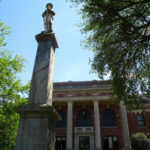 Statue at the Courthouse